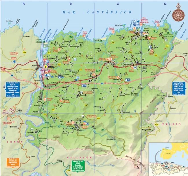 Datos de transporte y accesos for Oficina alsa oviedo